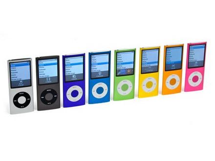 New iPods Nano