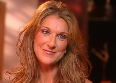 Celine Dion, the star