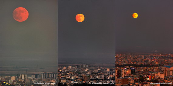 November 28, 2012 penumbral lunar eclipse